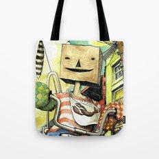 pseudo-hero Tote Bag