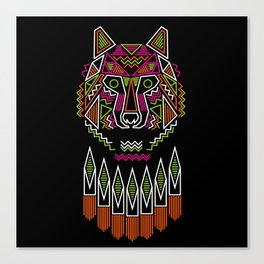 indiana wolf Canvas Print