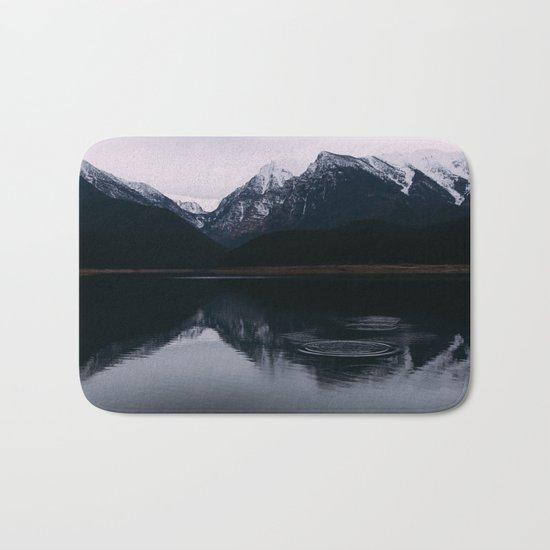 Mountain Reflections II #society6 #buyart Bath Mat