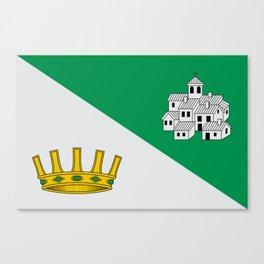 Villanueva Flag Canvas Print