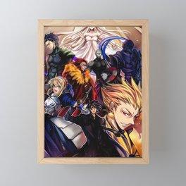 Fate Zero Framed Mini Art Print
