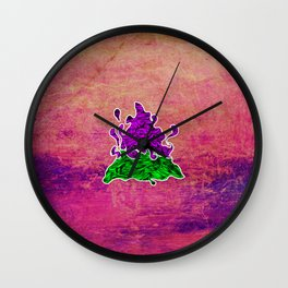 Fire - One of the four elements Wall Clock