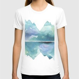 Blue and Green Mountains T-shirt