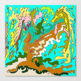 The Rizla Tree Canvas Print