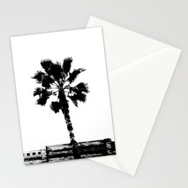 Black & White Palm Stationery Cards