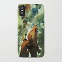 street fighter iPhone & iPod Cases featuring Street Fighter by jaimito