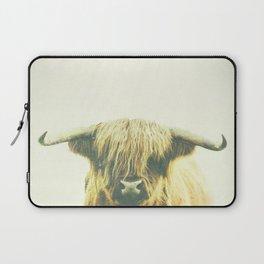 Shaggy Cow Laptop Sleeve