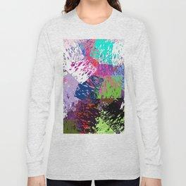 abstarct Long Sleeve T-shirt