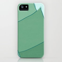 Abstract Banana Leaves Three - Greener Eden iPhone Case