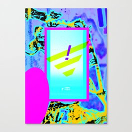 Y flag Canvas Print
