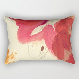 gestural abstraction 01 Rectangular Pillow