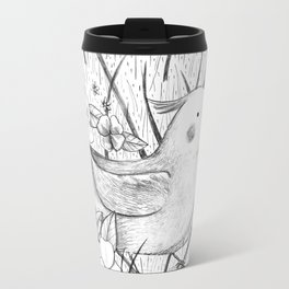 Cockatiel in Grass Travel Mug