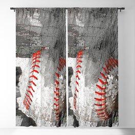 Baseball art vs 13 Blackout Curtain