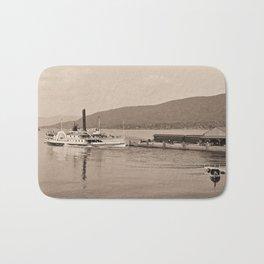 The Horicon I Steamboat (sepia) Bath Mat