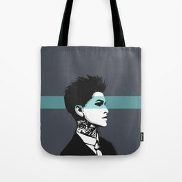 The handsome butch with neck tattoos Tote Bag
