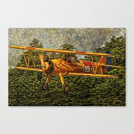 298 Stearman - RIAT 2005 Canvas Print