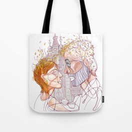 """ I realized early autumn "" Tote Bag"