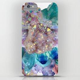Aura Crystal Bouquet Mandala iPhone Case