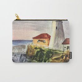 Portland Lighthouse Maine United States Carry-All Pouch
