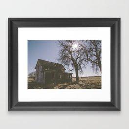 Abandoned: South Dakota 9801 Framed Art Print