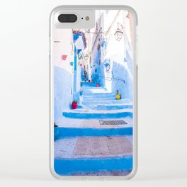 Walking round in Morocco - no3 Clear iPhone Case