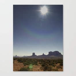 Deset_Monument Canvas Print