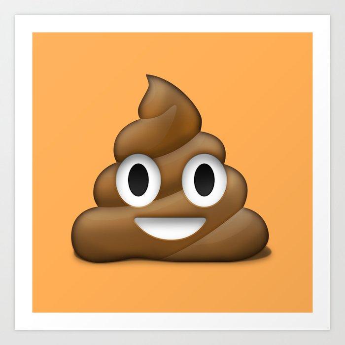 Nerdy image inside poop emoji printable