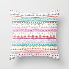 Half Full Stripe Throw Pillow