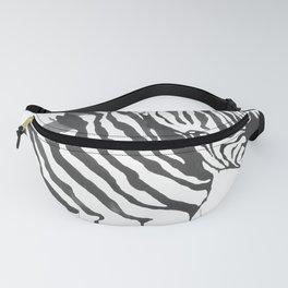 Zebra Code Fanny Pack
