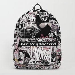 Lost in Graffitis (very rock) Backpack