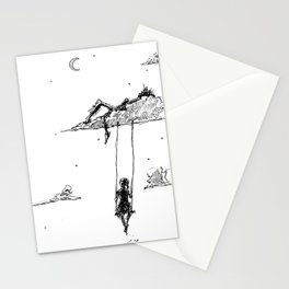 Resting in the Clouds Stationery Cards