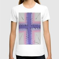 cross T-shirts featuring Cross by Guilherme Poletti
