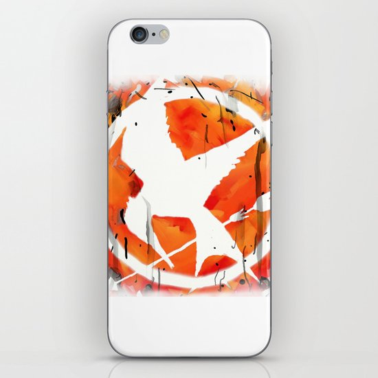 The Mockingjay iPhone & iPod Skin