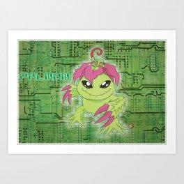 Digimon Adventure - Palmon Art Print