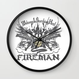 Welcome to Scorching Heat Wall Clock