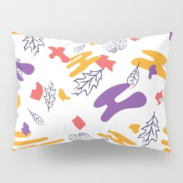 funny mix of colors Pillow Sham