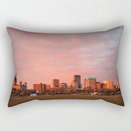 Minneapolis Sunset Rectangular Pillow