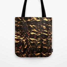 Liquid Gold Tote Bag