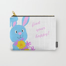 Scout with Flowers: Find Your Hoppy! Carry-All Pouch