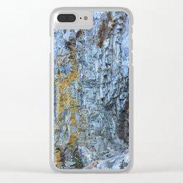Rocky roads Clear iPhone Case