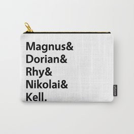 Book Princes White Carry-All Pouch