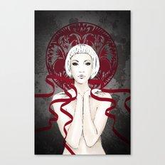 I GAVE YOU A  RIBBON Canvas Print