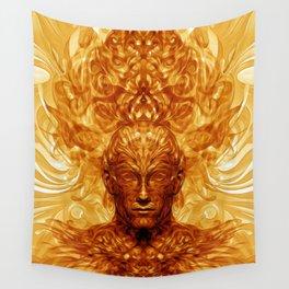 Shamannic Illumination Wall Tapestry
