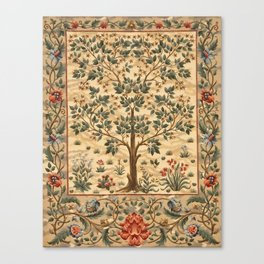 "William Morris ""Tree of life"" 3. Canvas Print"
