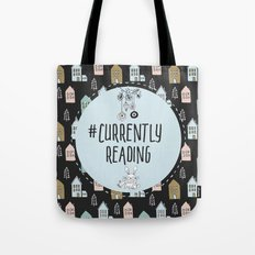 Currently Reading - Winter Bunny Tote Bag