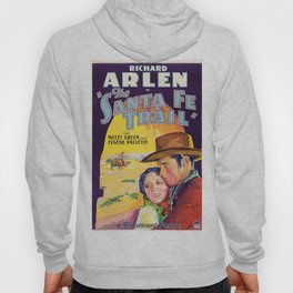 Classic Movie Poster - The Santa Fe Trail Hoody