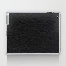 Black Leather case Laptop & iPad Skin