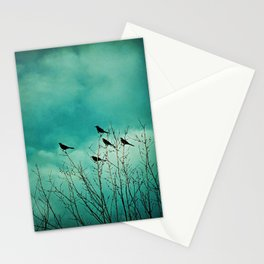 Like Birds on Trees Stationery Cards