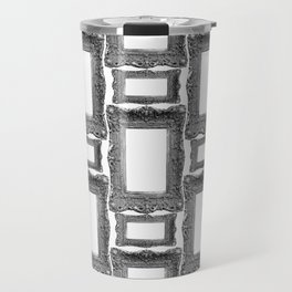 Antique Frame black and white #1 Travel Mug