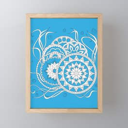 zen-like floral composition 4 Framed Mini Art Print